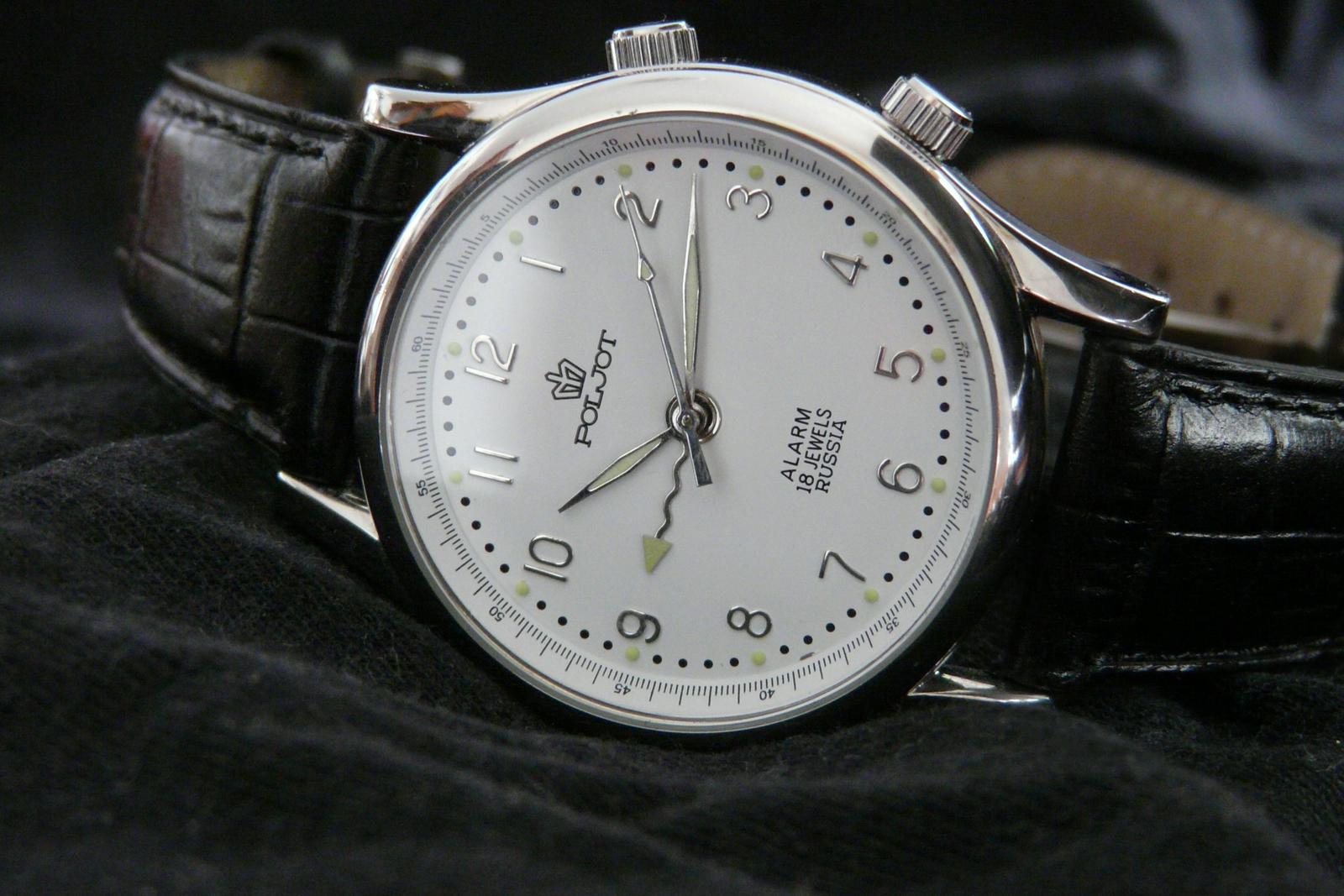 Poljot Wrist Alarm